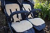 Kinderwagen Einlage Lammfell