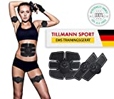 EMS Trainingsgerät von Tillmann's Bauchmuskeltrainer Fitness Geräte Elektrostimulation...