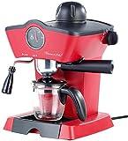 Rosenstein & Söhne Espressomaschine Retro: Dampfdruck-Siebträger-Espressomaschine ES-800.retro mit...