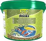 Tetra Pond Sticks (Hauptfutter für alle Gartenteichfische in Form von schwimmfähigen Sticks), 10...