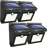 BAXiA Solarleuchte 28 LED Solar Lampe Solarlicht mit Bewegungssensor Kabelloses Wasserfest...