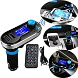 Neue Version Professional FM Transmitter Car Kit Bluetooth Wireless MP3 Player Musik...