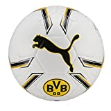 PUMA Bvb Hybrid Fußball, Puma White-Cyber Yellow, 5