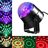 LEDGLE 6W Discokugel Party Disco Licht Musik Lichteffekt LED Party Licht RGB Bühnenlicht mit...