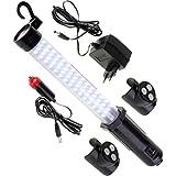 Hochleistungs LED Arbeitsleuchte hybriX edition - kabellos inkl. Akku für volle Flexibiltät -...