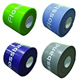 Flossband 4-er-Set, Level 1-4, Bandlänge 206cm, Bandbreite 5cm, Markenqualität von Sanctband nach...