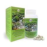 ECHT VITAL ZEOLITH - 1 Dose mit 144 Kapseln - ohne Magnesiumstearat - 100 % mikronisierter...