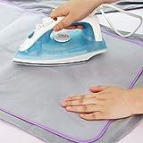 JohnJohnsen Schutz Presse Mesh-Bügeltuch-Schutz Schutz für empfindliches Kleidungsstück Kleidung...