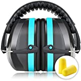 Kapselgehörschutz Sicherheit Ohrenschützer Ear Muffs SNR 36dB/NRR 34dB Von Fnova, ANSI S3.19&CE...