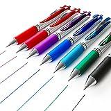 Pentel Energel XM BL77 (Druck-Gelschreiber, 0,7 mm, 7 Farben)
