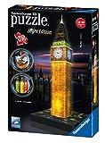 Ravensburger 12588 - 3D Puzzle Big Ben bei Nacht
