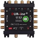 DUR-line MS 58 B - eco - Stromloser Multischalter - Multischalter für 8 Teilnehmer - Geringe...