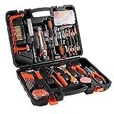 GreensKon 100-Teiliges Werkzeugkoffer Werkzeug Set Universal Handwerk Set mit robusten...