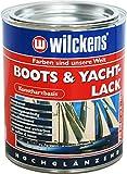 Kunstharzlack (Boots & Yachtlack inkl. Pinsel zum Auftragen (375 ml)