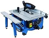 Scheppach Tischkreissäge HS80, präzise Kreissäge mit HW-Sägeblatt 20Z, hohe Sägequalität,...