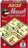 Schmidt Spiele 49324 Reise Mensch ärgere Dich Nicht, Spiel und Puzzle, rot
