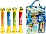 Cressi Swim Kinder Tauchstäbe Junior Dive Stick Kinder Tauchstäbe Schwimmspielzeug (2 Pcs), ,...