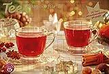 Tee-Adventskalender für Zwei - Pärchen-Adventskalender, 24 Türchen und 50 Aufgussbeutel - 56 x 38...
