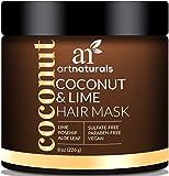 ArtNaturals Kokos-Limone Haarkur - (8 Oz / 226g) - Intensiv-Kur und Feuchtigkeitsspender für alle...