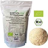 Bio Flohsamenschalen 500 g | 99% Reinheit | ganz / naturbelassen | Wiederverschließbarer...