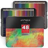 ARTEZA Professional Buntstifte, Farbigen Bleistifte (Set von 48)