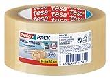 tesapack Ultra Strong Packband Transparent / Durchsichtiges Paketband aus PVC von tesa mit besonders...