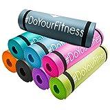 #DoYourFitness Fitnessmatte/Gymnstikmatte   weiche, rutschfeste Oberfläche ideal für Fitness Yoga...