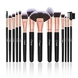 BESTOPE 14 Stück Make Up Pinsel Set Kosmetik Pinsel Premium Synthetische Kabuki Makeup Pinsel...
