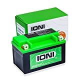 Motorrad Batterie 12V 7Ah AGM IONI ION (TYP -  MG7A-BS-C / ähnlich YTX7A-BS)