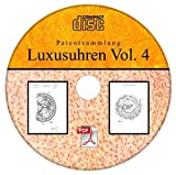 Patek Philippe, Luxusuhren, 21 Patente von Patek Philippe S.A. auf CD