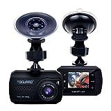 TOGUARD Mini 1080P Auto Kamera Dashcam DVR Recorder Eingebauter G-Sensor Bewegungserkennung Loop...