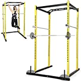 Physionics Power Rack Cage Multistation Hantelbank Muskeltraining Fitnessstation für Krafttraining...