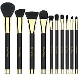 Emaxdesign Make-up-Pinsel 10 Stück Professionell Premium Kosmetik Bürsten für Grundierung,...