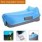 Aufblasbares Sofa Air Lounger mit Kissen Wasserdichtes Luft Liege Luftsofa Couch Bett Sitzsack...