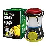 LE Mini LED Camping Laterne Powerbank, USB aufladbar Notfallleuchte, kindersize, wasserdicht...