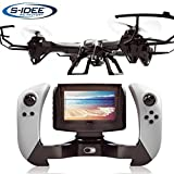 s-idee 01608 Quadrocopter UDI U842-1 FPV 5.8 GHz Übertragung HD Kamera U842 4.5 Kanal 2.4 Ghz...