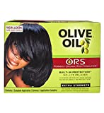 Relaxer / Glättungscreme Organic Root Stimulator Olive Oil Built-In Protection No-Lye Hair Relaxer...