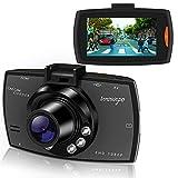 Dash Cam HD 1080P 2.7' Auto Kamera Auto DVR Kamera Dashcamera Recorder mit 140° Weitwinkelobjektiv...