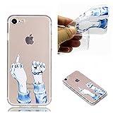iPhone 8 Hülle, iPhone 7 Hülle, iPhone 8 / 7 Crystal Shell, iPhone 8 / iPhone 7 Silikon Hülle,...