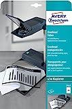 Avery Zweckform 3567 Overhead-Folien (A4, spezialbeschichtet, stapelverarbeitbar) 10 Blatt