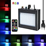 Strobe Light,SOLMORE 108 LEDs Stroboskop Disco Strobe Bühnenbeleuchtung Musikgesteuert Strobe Lampe...