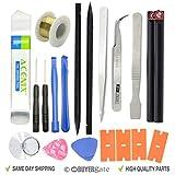 ACENIX® 19 in 1 Öffnungs-Reparatur-Hebel-Werkzeug-Set Spudger Pinzette Nylon Kunststoff-Öffner...
