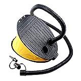 Contever 3000 CC Fußpumpe Fußbetätigung Kompressor Tragbar Blasebalg Luftpumpe für Pool,...