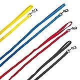 Welpenleinen aus Nylon passend zu den Welpenhalsbänder in 4 Farben 1 Meter lang ideal für Züchter...