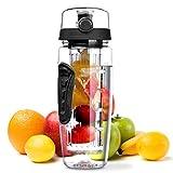 Wasserflasche, OMorc [BPA-Frei Tritan] Kunststoff Trinkflasche Sport Flasche 1L Sportflasche...
