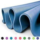 Glamexx24 XXL Fitnessmatte Yogamatte Pilatesmatte Gymnastikmatte EXTRA-dick und weich, ideal für...