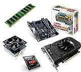 One PC Aufrüstkit   AMD FX-Series Bulldozer FX-4300, 4x 3.80GHz   montiertes Aufrüstset  ...