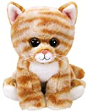 TY 42305 Cleo, Katze getigert 15cm, Beanie Babies, braun