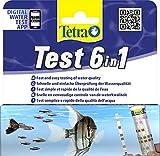 Tetra Test 6in1 (Wassertest für das Aquarium, schnelle und einfache Überprüfung der...