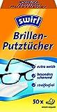Swirl Brillen-Putztücher, Anti-Beschlag-Effekt, 4er Pack, Je 50 Stück in Spenderbox